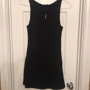 LBD Tight Mini Dress with cutout